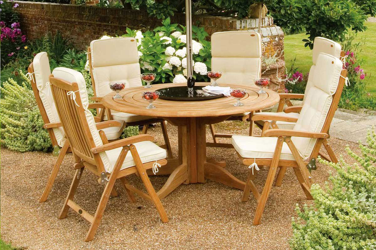 Wood Table - Chair Sets